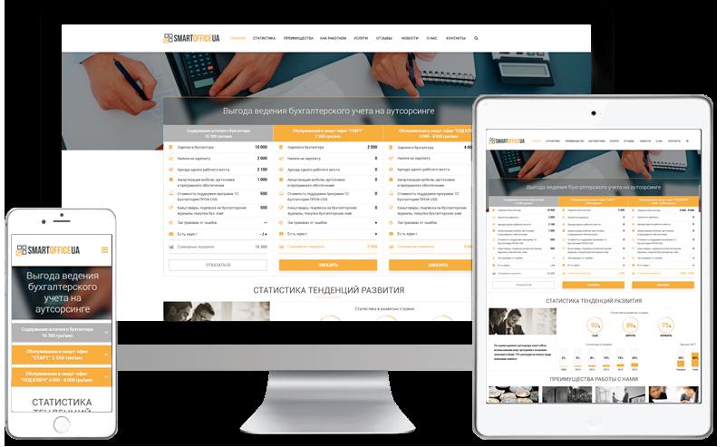 Осуществляем профессиональную разработку сайтов