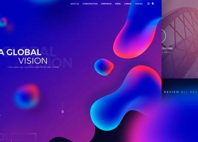 Популярные тренды в веб-дизайне: 2018 год
