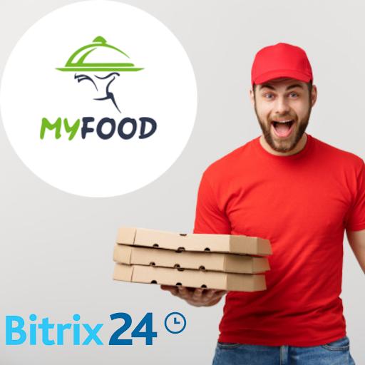 Впровадження CRM системи для служби доставки їжі MY FOOD